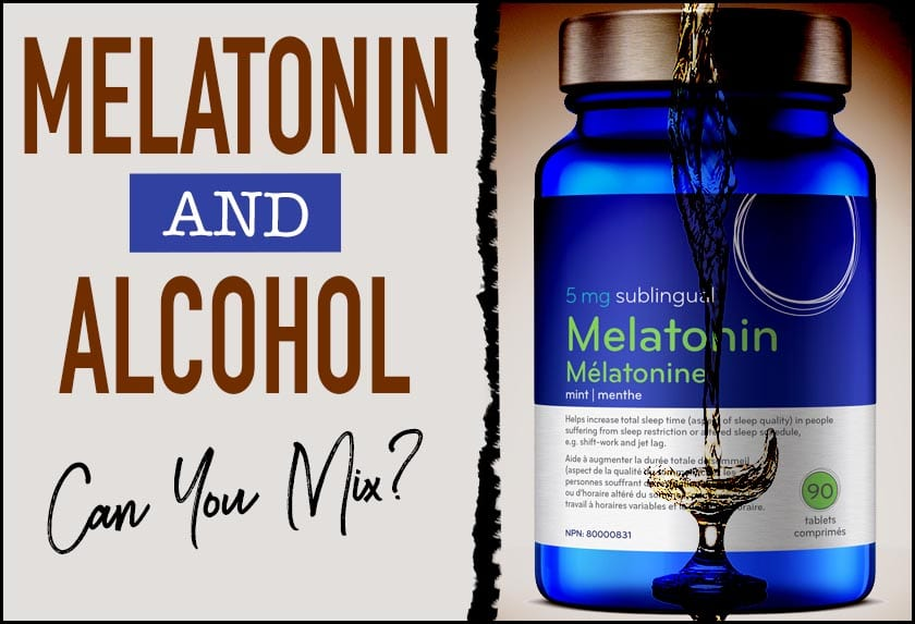 melatonin alcohol